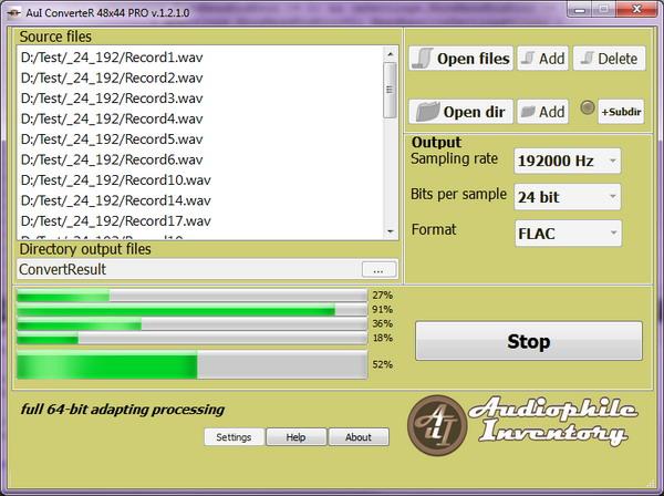AuI ConverteR 48x44 screenshot